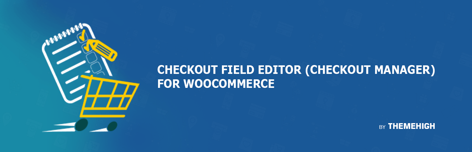 checkout field editor woocommerce plugin