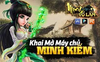 Khai mở máy chủ mới Minh Kiếm