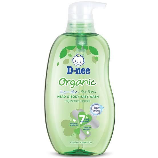 5. D - Nee Organic Head & Body Baby Wash