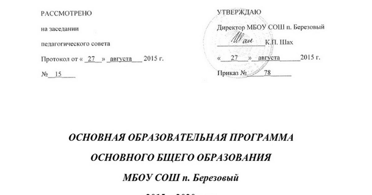 ООП ООО п. Березовый 1.docx - Google Docs