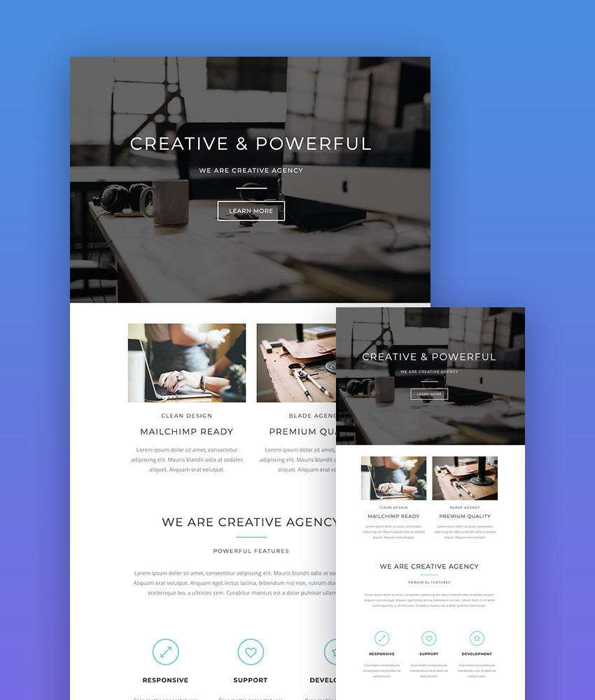 25 Best Mailchimp Responsive Email Templates 2019 Newsletter Designs