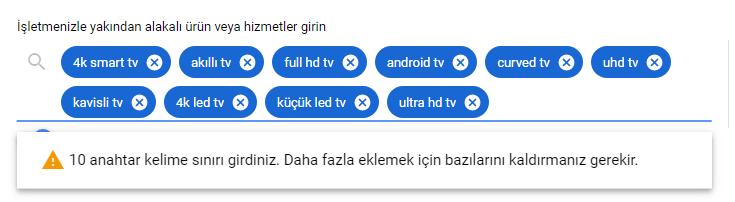 Google Anahtar Kelime Planlayıcı Nasıl Kullanılır?