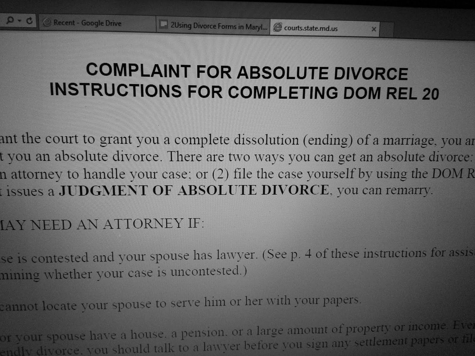 Using maryland divorce and custody forms online the divorce place when a divorce of other domestic case is commenced the county clerks office collects a filing fee there are a number such fees 0ver the life of the solutioingenieria Images