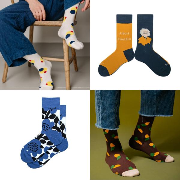 Pinkoi新品 2020秋冬女裝 2020時尚 趨勢 最新商品 穿搭 流行 襪子 長襪
