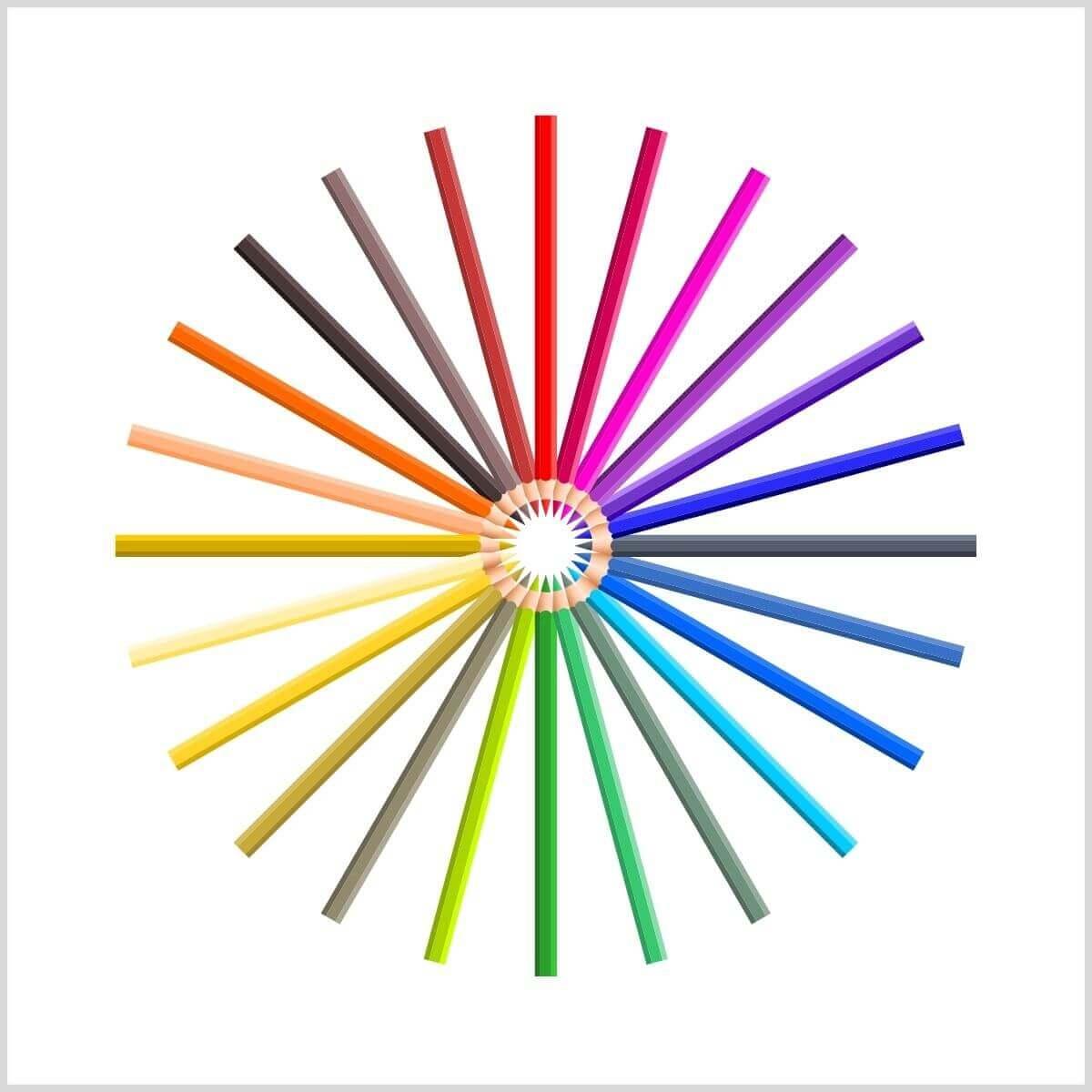 Color psychology palette