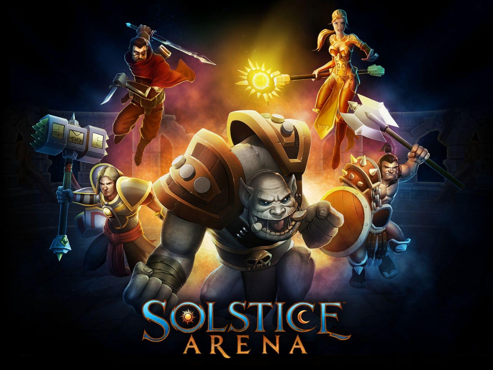 Solstice Arena Logo