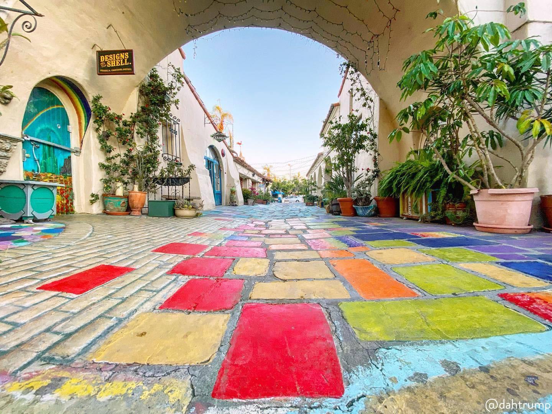 Spanish Village Art Center at Balboa Park