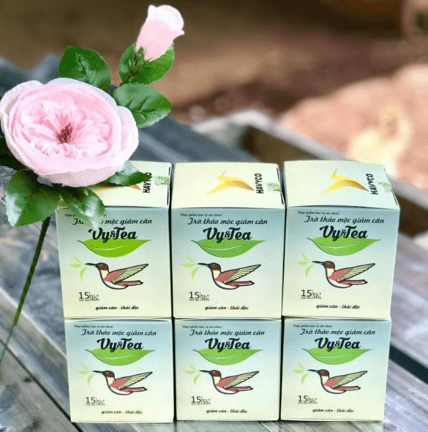 Trà giảm cân vy&tea- một siêu phẩm 5 trong 1