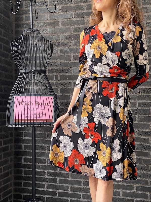 フランス製インポートワンピース通販/40代50代ファッションコーディネートブログ