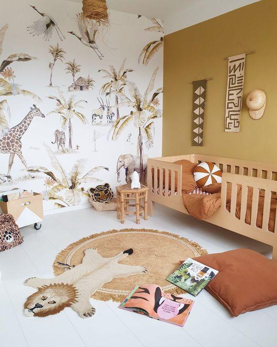 Safari Themed Baby Boy Bedroom Ideas