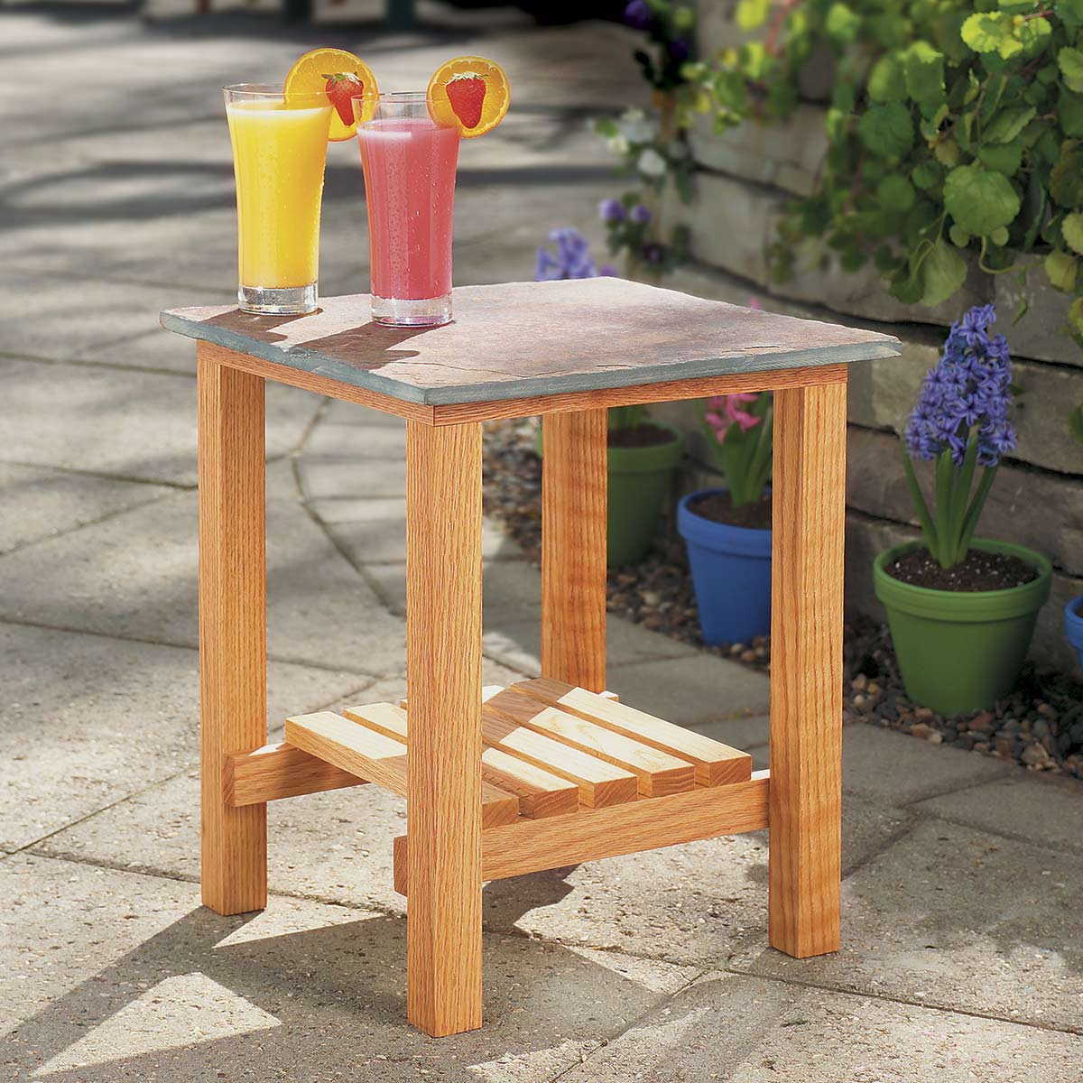 Patio Table: These 25 Woodworking Projects For The Garden will help you make some money.