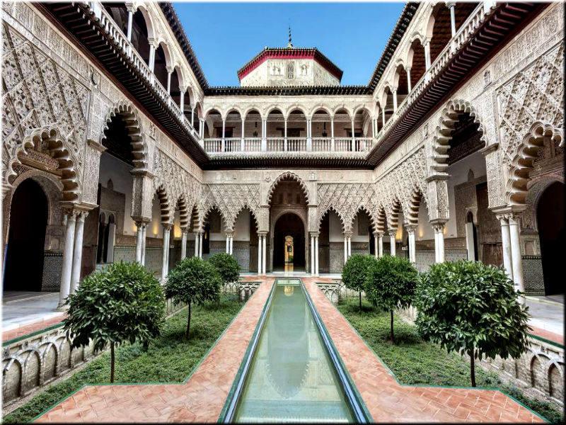 объекты Альгамбры