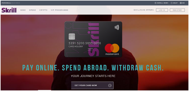 Skrill Bank Card (Mastercard)