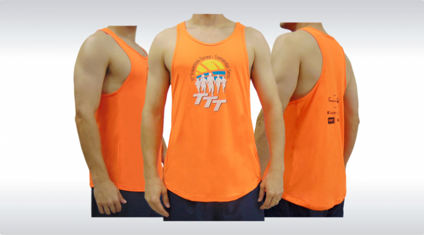 Camiseta Regata Personalizada Produzida por Ecco Bolsas