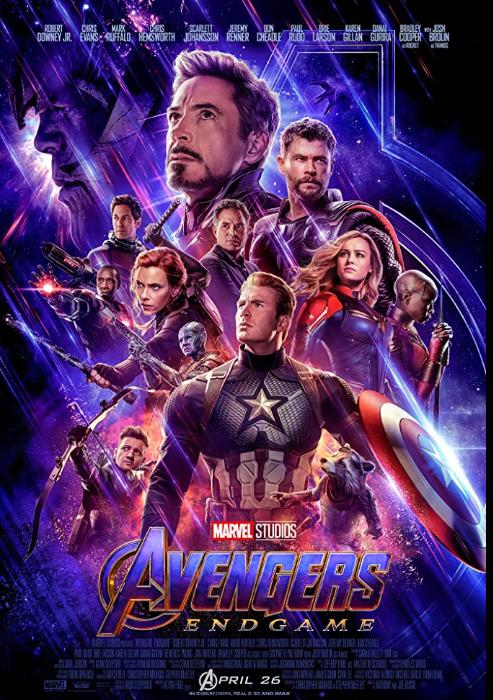 Avengers Endgame 2019 - IMDB's 5 Highest Grossing Movies of all Time