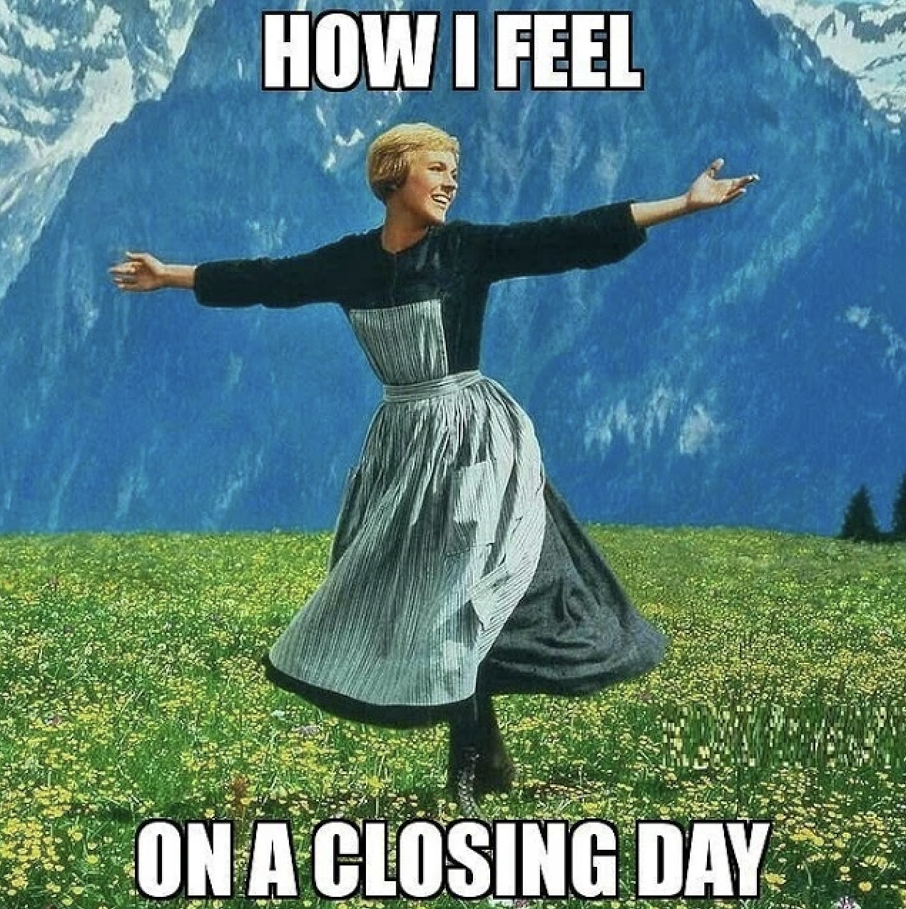 how i feel... on a closing day for real estate memes