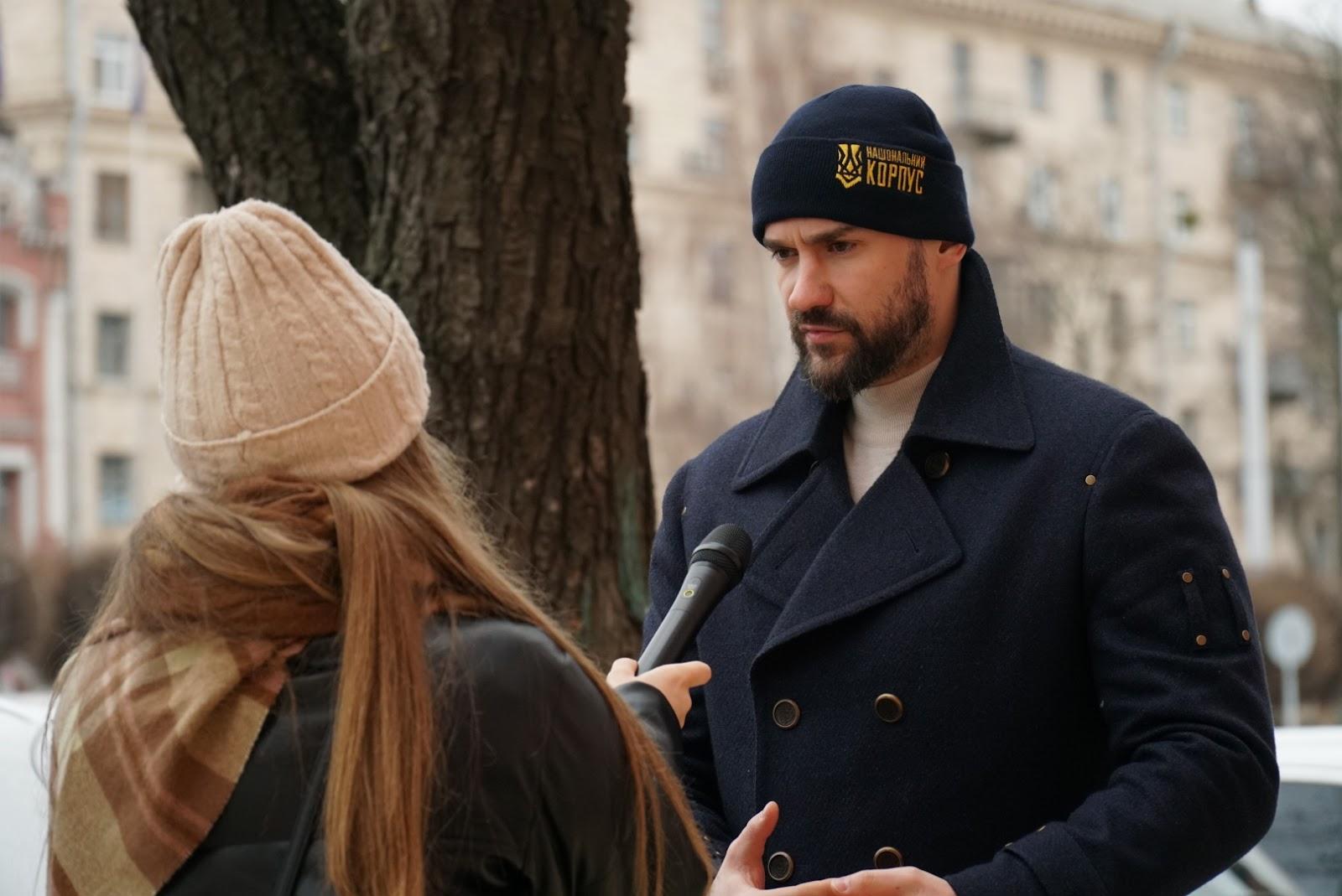 Сергій Тамарін, Печерський суд, акція Нацкорпусу
