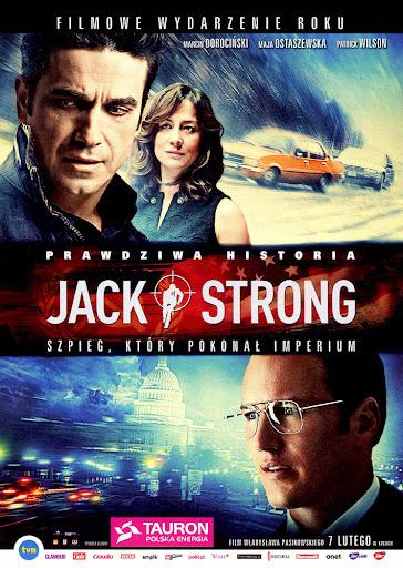 Przód ulotki filmu 'Jack Strong'
