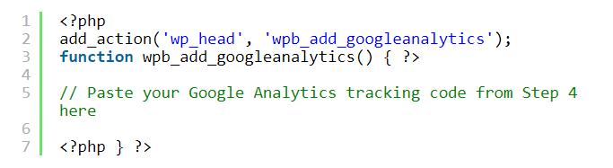 Как подключить Google Analytics к сайту 6