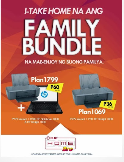 PLDT HomeBro Family Bundle