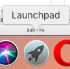 the Launchpad on a Mac