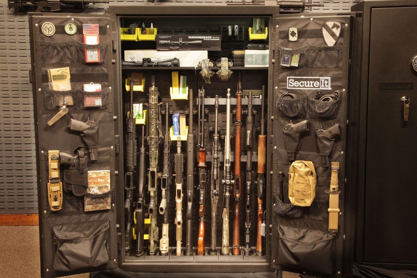 low profile gun safe