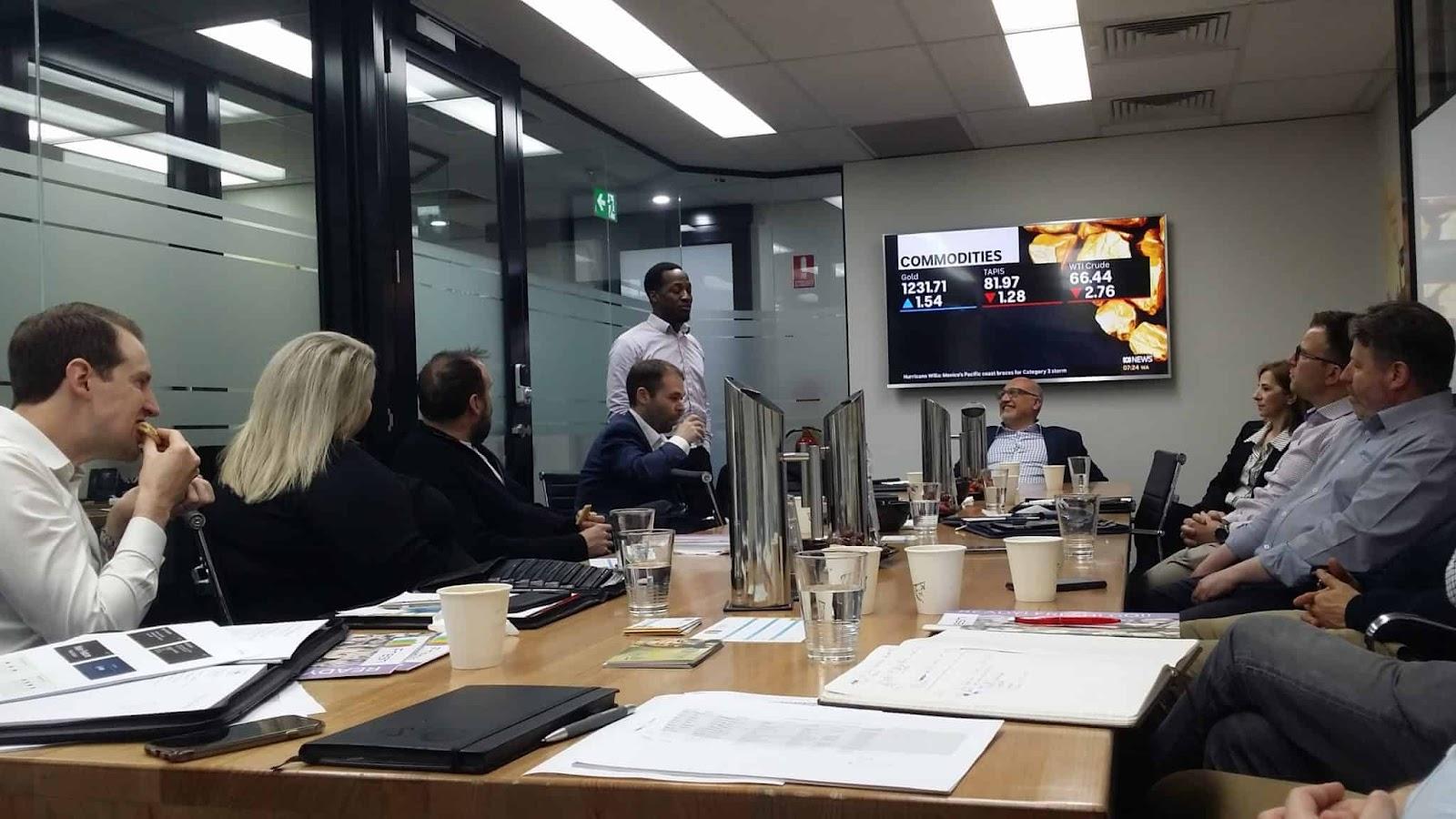 B2B HQ Virtual Offices Meeting Room