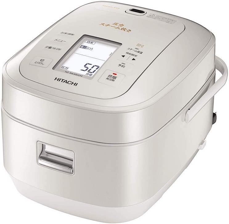 日立 圧力スチームIH炊飯器 RZ-AW3000M W