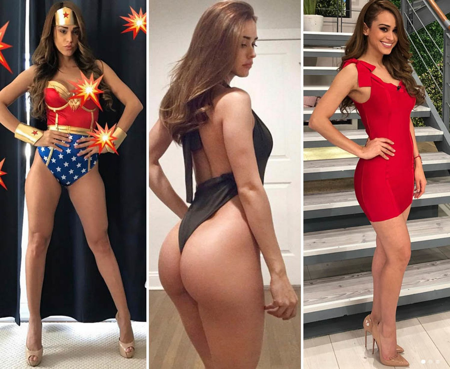 Weather Girl Yanet García sets pulses racing with her forecasts