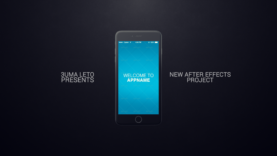 iphone 6 app presentation videohive free template free after effects template videohive projects. Black Bedroom Furniture Sets. Home Design Ideas