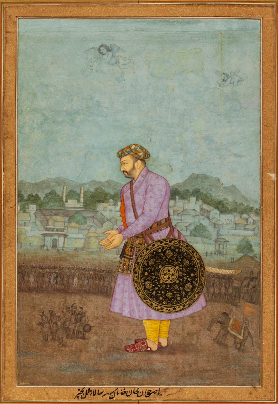 মমতাজ মহলের পিতা আসফ খান।