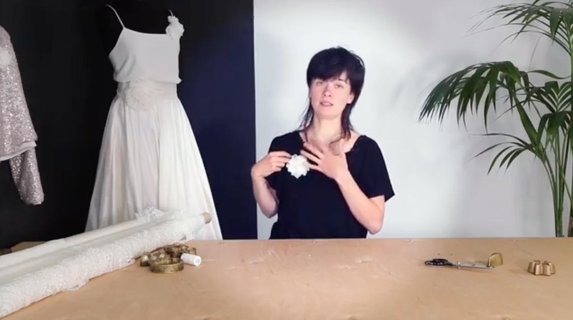 lady with a dress