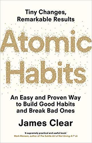 capa do livro atomic habits