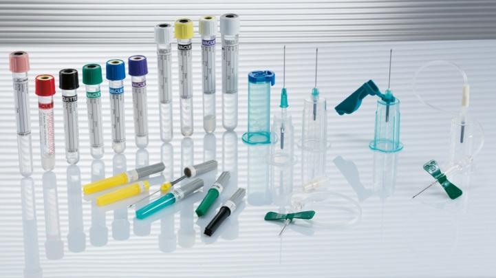 Ассортимент cистем вакуумного забора крови Vacuette (Greiner Bio-One, Австрия)