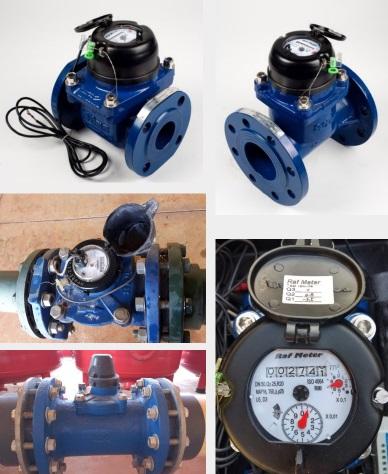 Modelos de hidrômetros compatíveis com sistema da Agrosmart