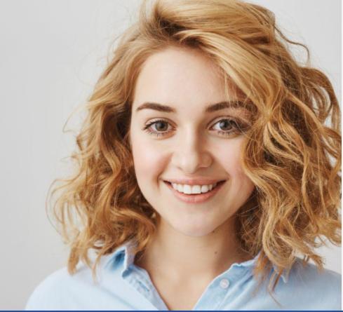 alt=''Layered curly hair''