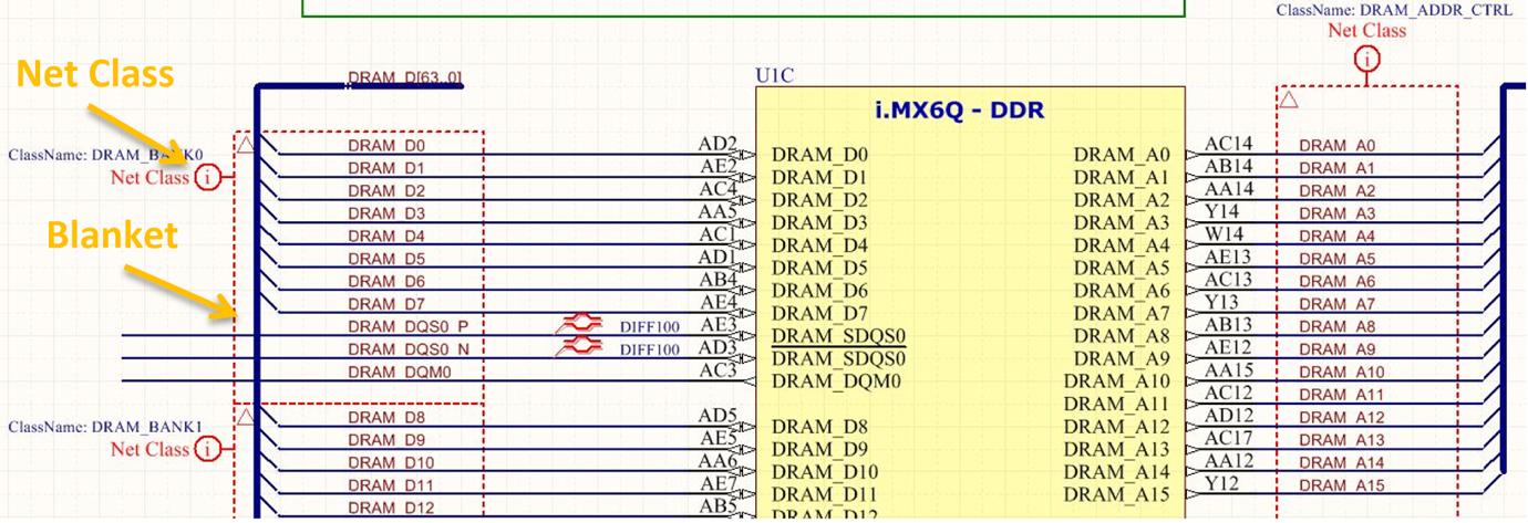 ddr3 memory example tutorial  Abbildung 2: Abdeckungen und PCB-Anordnungen werden zur Erstellung von Netzklassegruppen für die DDR3-Routing-Richtlinien verwendet.