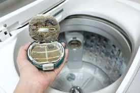 Clean the washing machine regularly