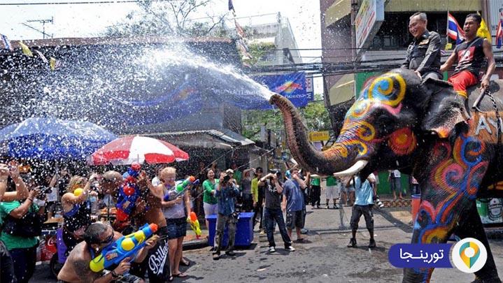 فستیوال آب در پاتایا
