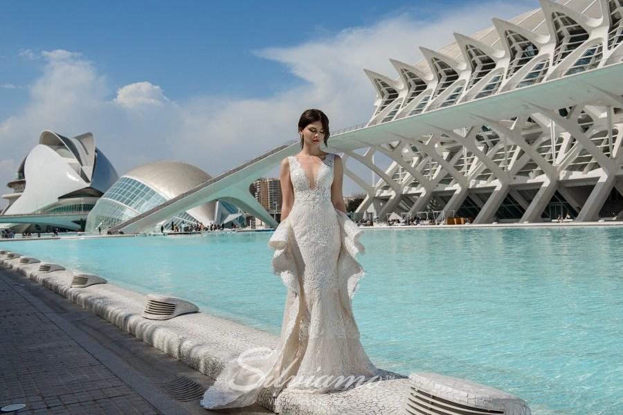 Свадебное платье годе оптом