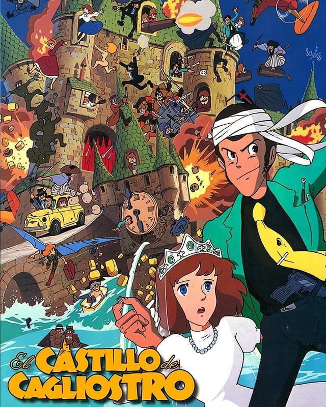El castillo de Cagliostro (1979, Hayao Miyazaki)