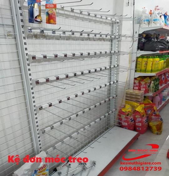 kệ siêu thị móc treo