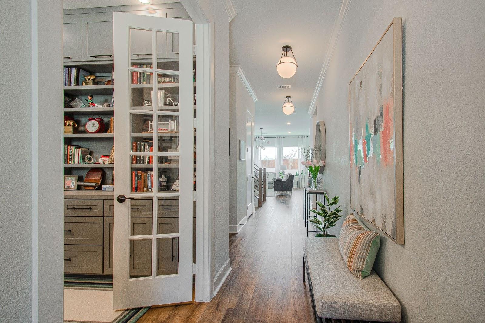home office custom built-in designed by keti