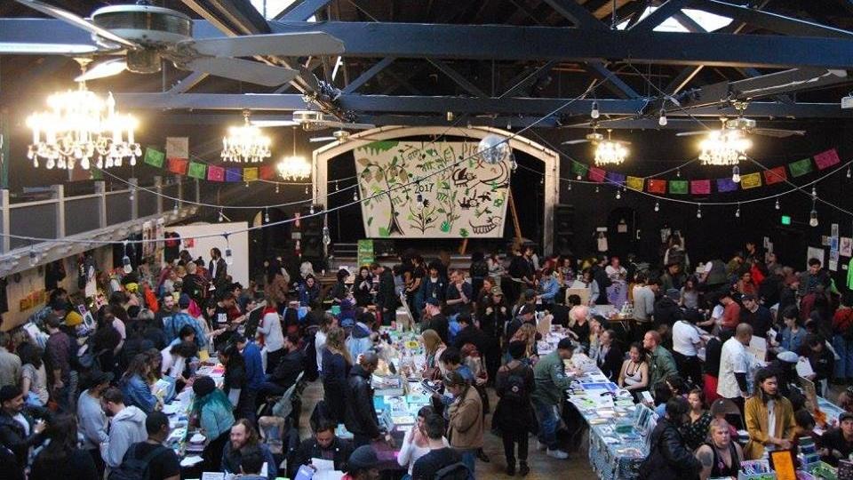 East Bay Alternative Book & Zine Fest 2018 at MacArthur