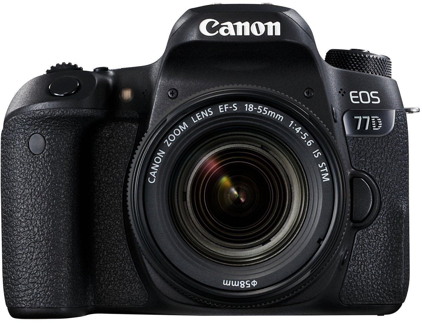 Canon EOS 77D Best DSLR Camera under 1 lakh