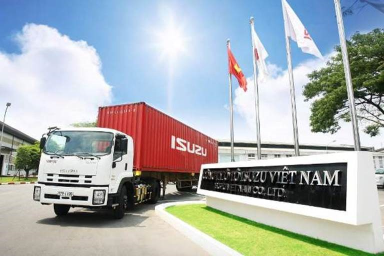 thương hiệu xe tải Isuzu