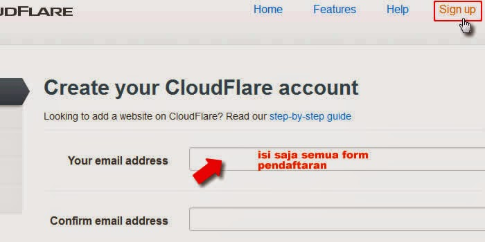Cara pointing Custom Domain Ganti blogspot.com ke layanan cloudflare
