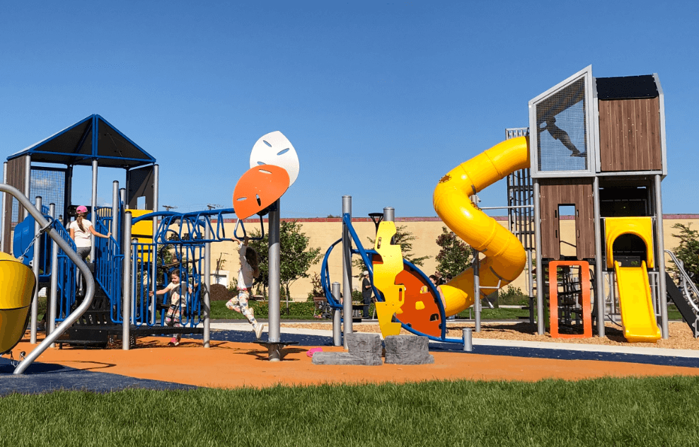 how to encourage your child to exercise Playground Canada, Jambette