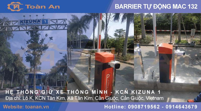 Dự án lắp đặt barrier mac 132 cho cổng khu công nghiệp