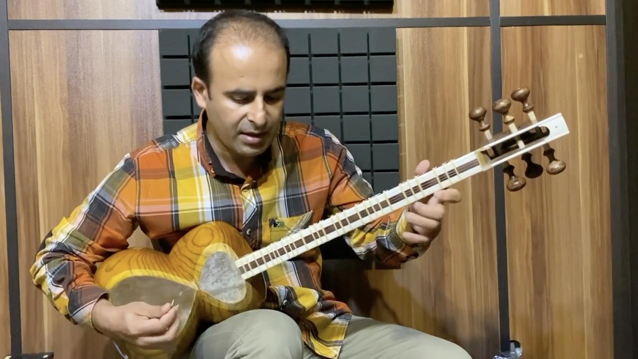 شیخ شاهمیلی بیات شیراز دو نیما فریدونی تار